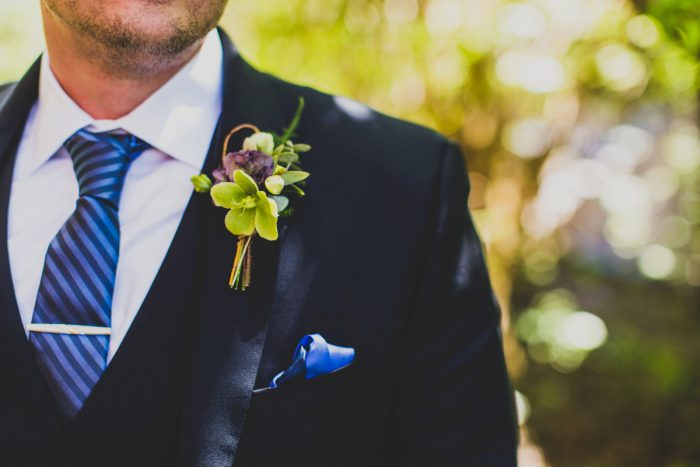 Boutonniere: A Schenley Plaza Wedding: ReVeal Pittsburgh by Ryan Zarichnak Photography featured on Burgh Brides