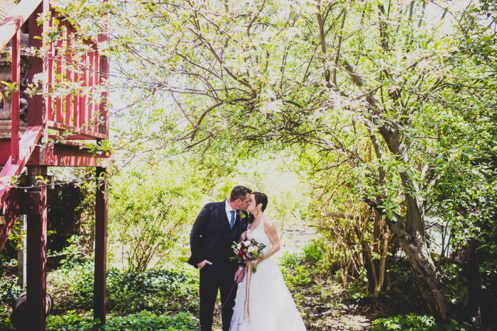 Bride and Groom: A Schenley Plaza Wedding: ReVeal Pittsburgh by Ryan Zarichnak Photography featured on Burgh Brides