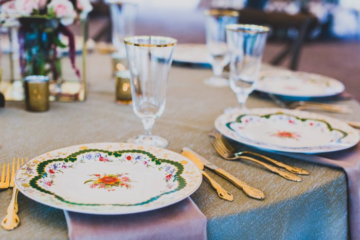 Vintage Tablescape: A Schenley Plaza Wedding: ReVeal Pittsburgh by Ryan Zarichnak Photography featured on Burgh Brides