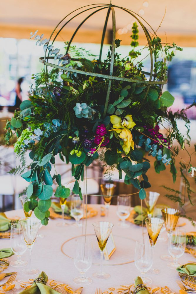 Unique Wedding Centerpieces: A Schenley Plaza Wedding: ReVeal Pittsburgh by Ryan Zarichnak Photography featured on Burgh Brides