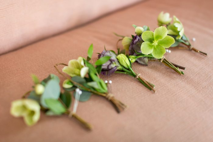 Boutonniere: A Schenley Plaza Wedding: ReVeal Pittsburgh by Weddings by Alisa featured on Burgh Brides