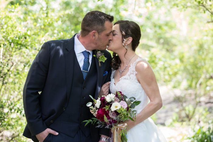 Bride and Groom: A Schenley Plaza Wedding: ReVeal Pittsburgh by Weddings by Alisa featured on Burgh Brides