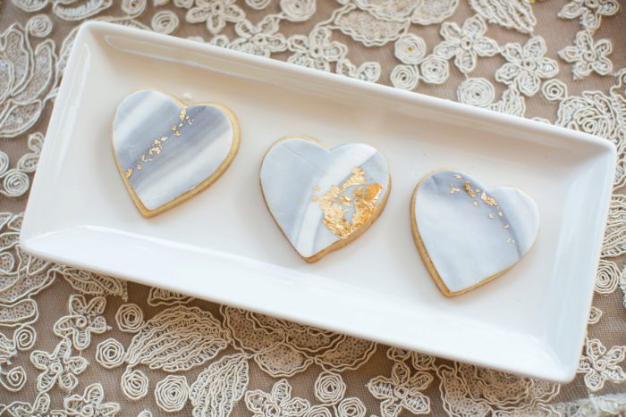 Marble Sugar Cookies: A Schenley Plaza Wedding: ReVeal Pittsburgh by Weddings by Alisa featured on Burgh Brides
