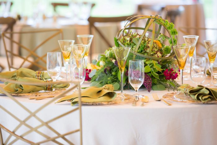 Boho Wedding Centerpieces: A Schenley Plaza Wedding: ReVeal Pittsburgh by Weddings by Alisa featured on Burgh Brides