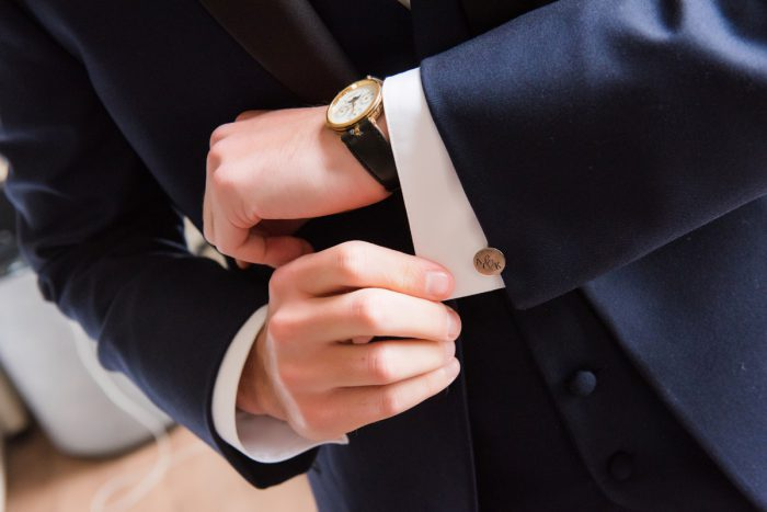 Groom Cufflinks: Soft Romantic Wedding at the Renaissance from Leeann Marie, Wedding Photographers featured on Burgh Brides