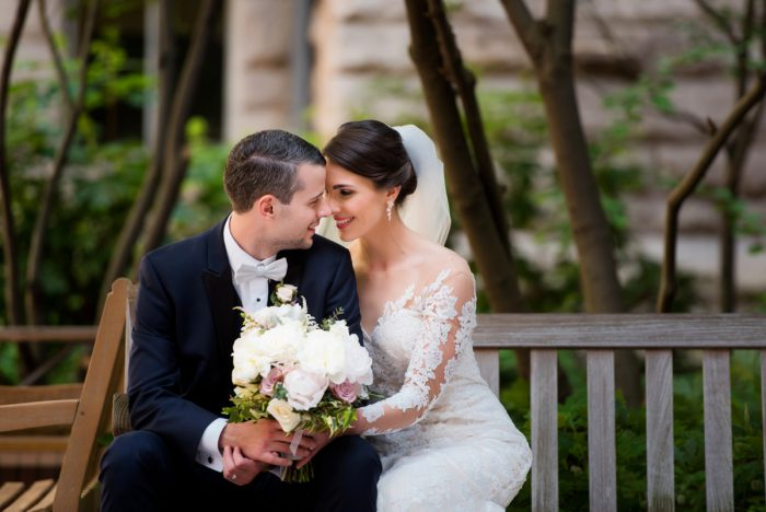 Romantic Bride and Groom Photos: Soft Romantic Wedding at the Renaissance from Leeann Marie, Wedding Photographers featured on Burgh Brides