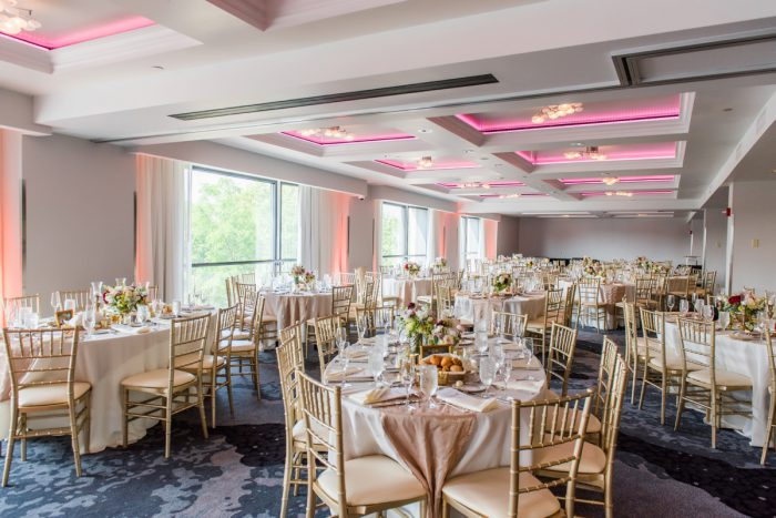 Hotel Ballroom Wedding Ideas: Soft Romantic Wedding at the Renaissance from Leeann Marie, Wedding Photographers featured on Burgh Brides