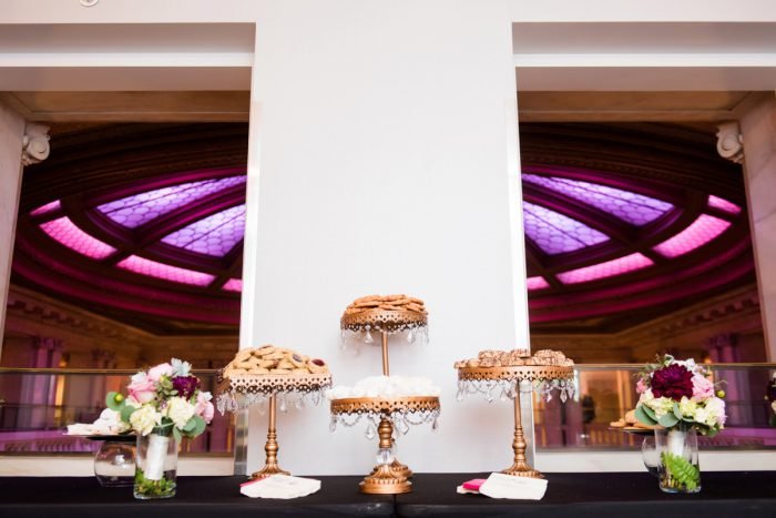 Pittsburgh Cookie Table Ideas: Soft Romantic Wedding at the Renaissance from Leeann Marie, Wedding Photographers featured on Burgh Brides