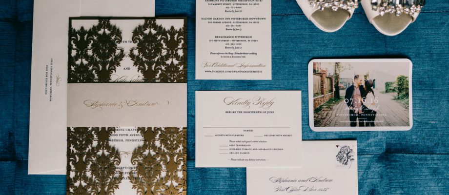 Timeless Gold & White Wedding at the Fairmont: Steph & Andy