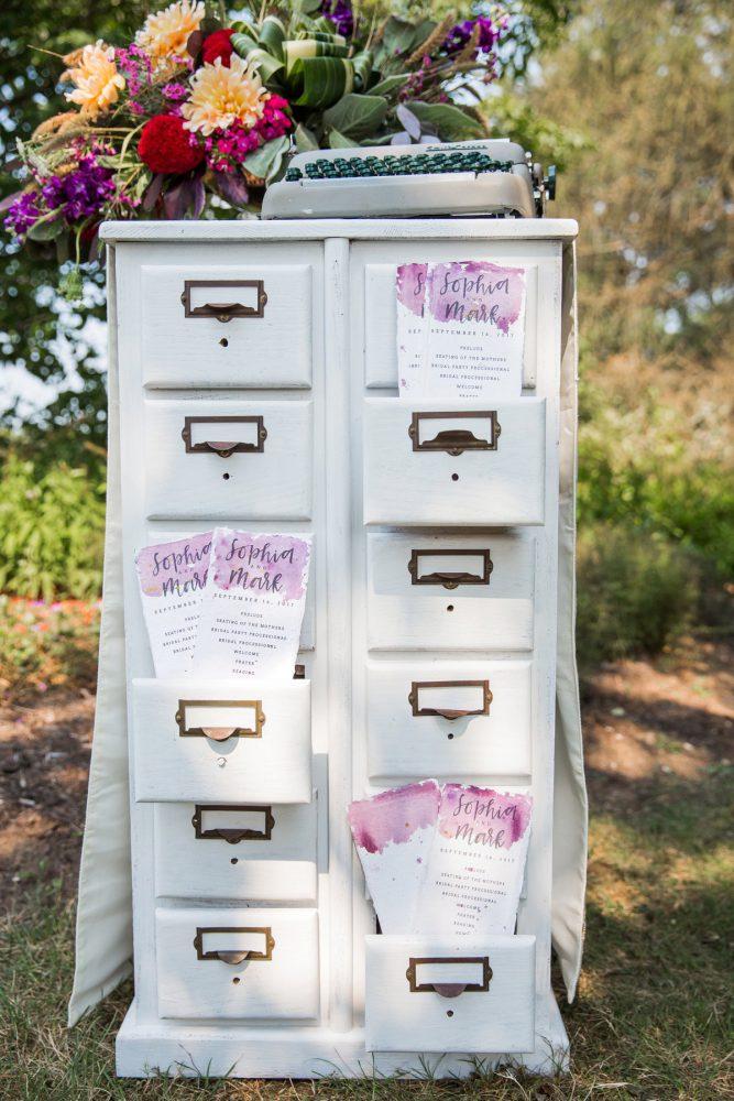 Wedding Ceremony Display Ideas: Versatile Vintage Inspired Wedding Styled Shoot featured on Burgh Brides