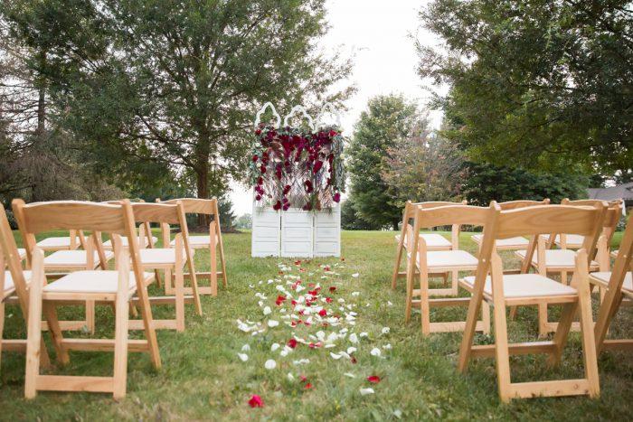 Wedding Ceremony Set Up Ideas: Versatile Vintage Inspired Wedding Styled Shoot featured on Burgh Brides