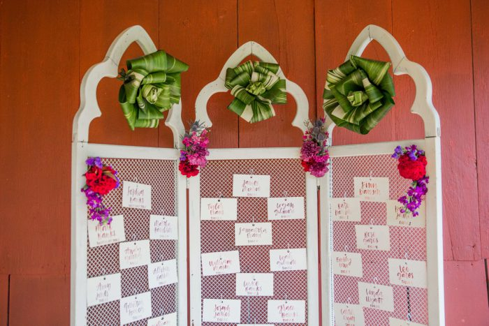 Wedding Escort Card Display Ideas: Versatile Vintage Inspired Wedding Styled Shoot featured on Burgh Brides
