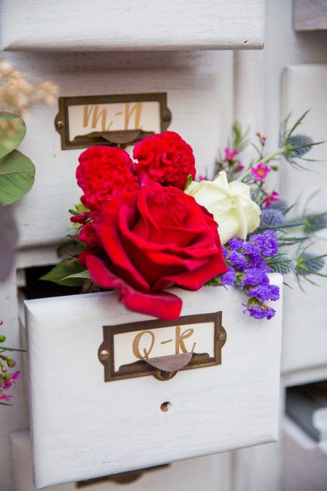 Escort Card Display Ideas: Versatile Vintage Inspired Wedding Styled Shoot featured on Burgh Brides