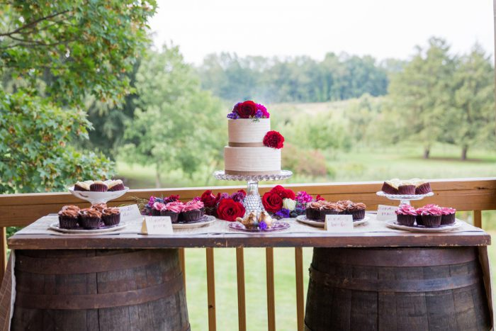Wedding Cake Display: Versatile Vintage Inspired Wedding Styled Shoot featured on Burgh Brides