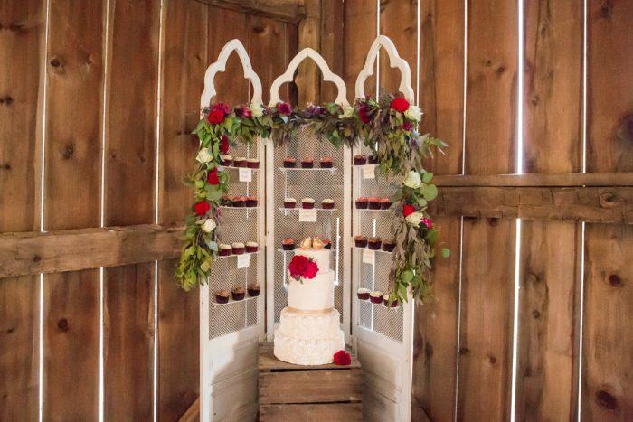 Wedding Cake Display: Versatile Vintage Inspired Wedding Styled Shoot featured on Burgh Brides