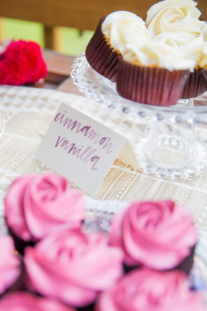 Wedding Cupcake Display: Versatile Vintage Inspired Wedding Styled Shoot featured on Burgh Brides