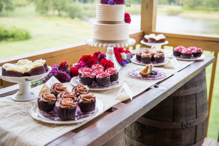 Wedding Dessert Display: Versatile Vintage Inspired Wedding Styled Shoot featured on Burgh Brides