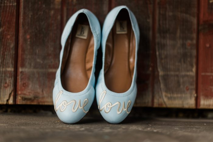 Wedding Flats: Vibrant Whimsical Wedding at Rustic Acres Farm from Dawn Derbyshire Photography featured on Burgh Brides