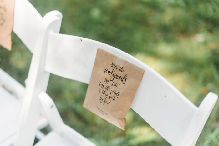 Wedding Ceremony Ideas: Vibrant Whimsical Wedding at Rustic Acres Farm from Dawn Derbyshire Photography featured on Burgh Brides