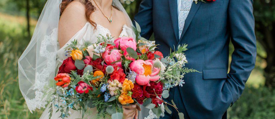 Vibrant Whimsical Rustic Acres Farm Wedding