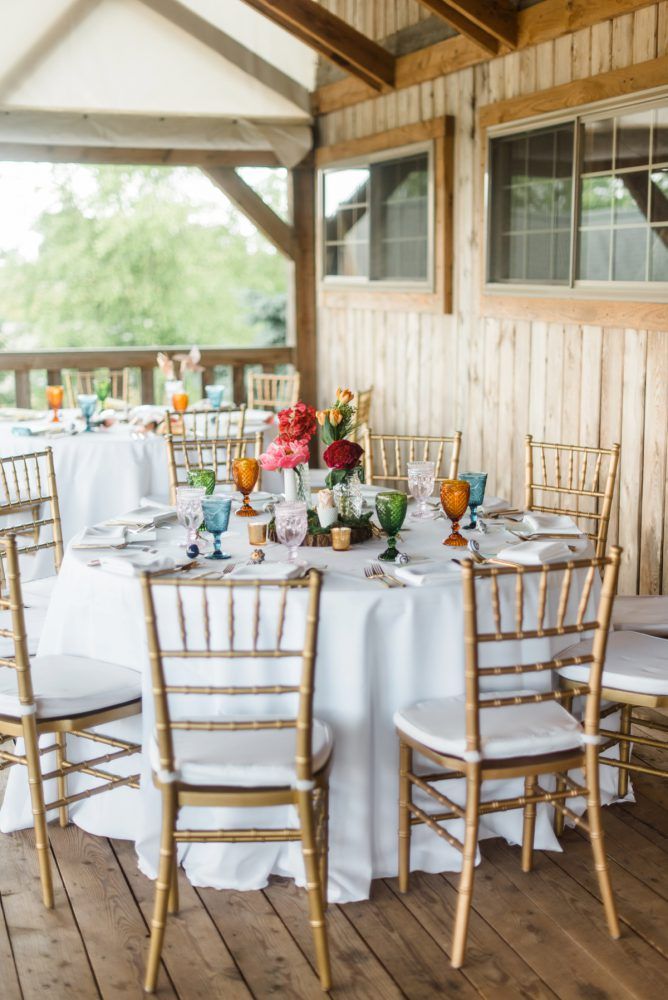 Colorful Wedding Details: Vibrant Whimsical Wedding at Rustic Acres Farm from Dawn Derbyshire Photography featured on Burgh Brides