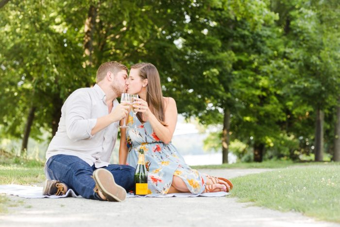 Brewery Engagement Session from Kelly Adrienne Photography featured on Burgh Brides