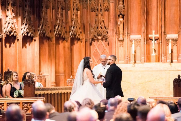 Glamorous Doubletree Pittsburgh Airport Wedding from Kathryn Hyslop Photography featured on Burgh Brides