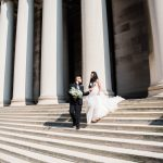 Fairy Tale Wedding Photos: Glamorous City Wedding at the DoubleTree Hotel from Kathryn Hyslop Photography featured on Burgh Brides