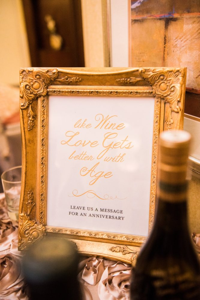 Wedding Signs: Glamorous Doubletree Pittsburgh Airport Wedding from Kathryn Hyslop Photography featured on Burgh Brides