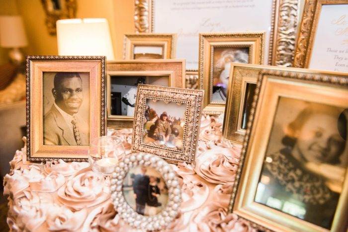 Wedding Photo Display: Glamorous Doubletree Pittsburgh Airport Wedding from Kathryn Hyslop Photography featured on Burgh Brides