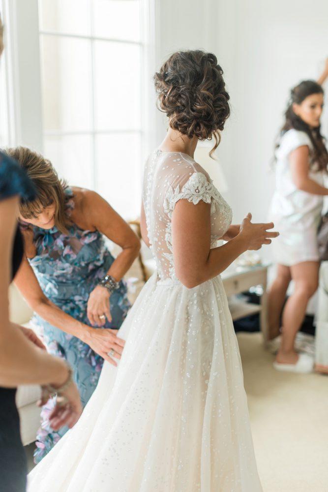 Bridal Hair Ideas: Stunning & Enchanting Wedding at Fox Chapel Golf Club from Dawn Derbyshire Photography featured on Burgh Brides