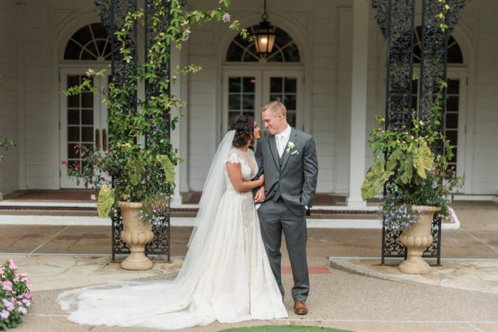 Wedding Day Portraits: Stunning & Enchanting Wedding at Fox Chapel Golf Club from Dawn Derbyshire Photography featured on Burgh Brides