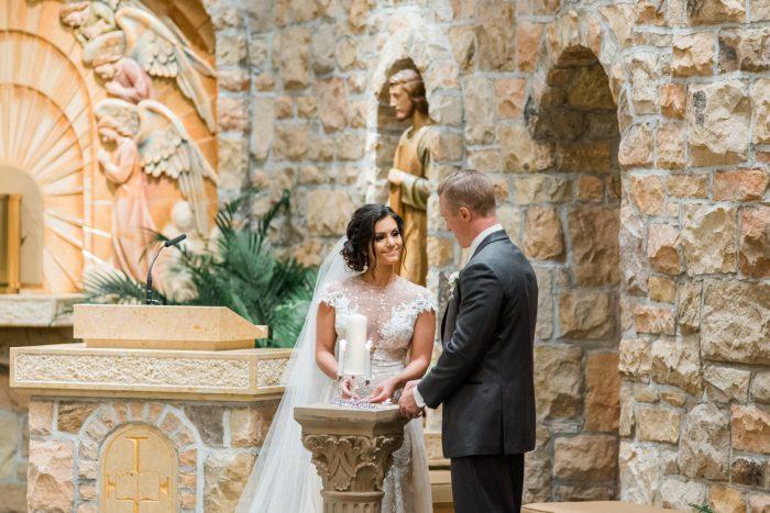 Stunning & Enchanting Wedding at Fox Chapel Golf Club from Dawn Derbyshire Photography featured on Burgh Brides