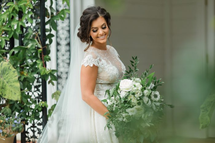 Green and White Wedding Ideas: Stunning & Enchanting Wedding at Fox Chapel Golf Club from Dawn Derbyshire Photography featured on Burgh Brides