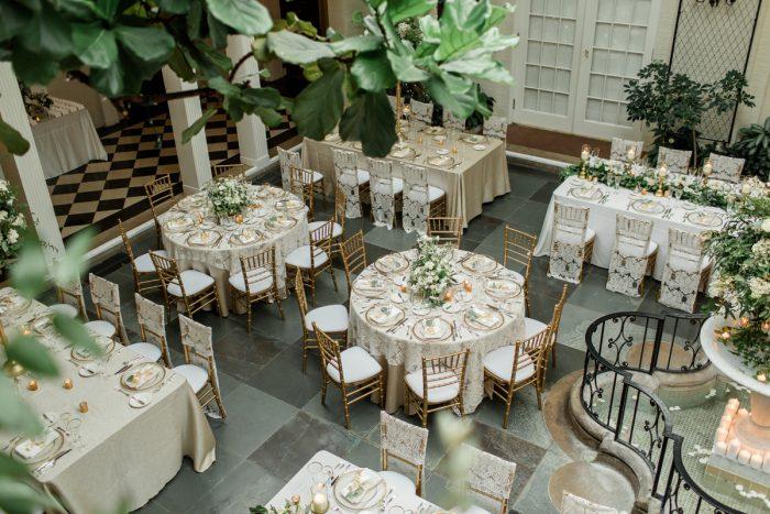 Wedding Set Up Ideas: Stunning & Enchanting Wedding at Fox Chapel Golf Club from Dawn Derbyshire Photography featured on Burgh Brides