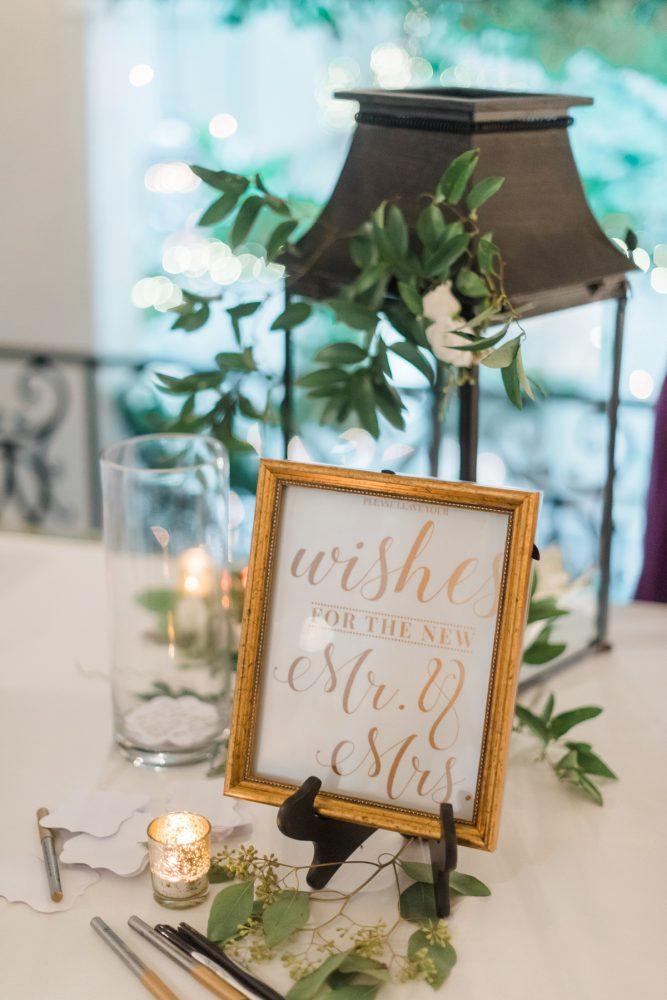 Wedding Sign Ideas: Stunning & Enchanting Wedding at Fox Chapel Golf Club from Dawn Derbyshire Photography featured on Burgh Brides