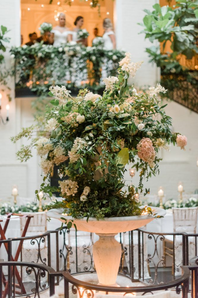 Wedding Flower Ideas: Stunning & Enchanting Wedding at Fox Chapel Golf Club from Dawn Derbyshire Photography featured on Burgh Brides
