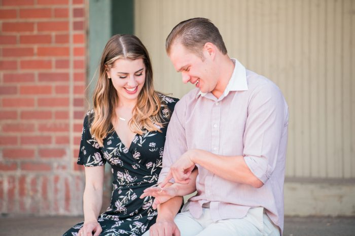 Proposal Ideas: Surprise Strip District Proposal from Kathryn Hyslop Photography featured on Burgh Brides