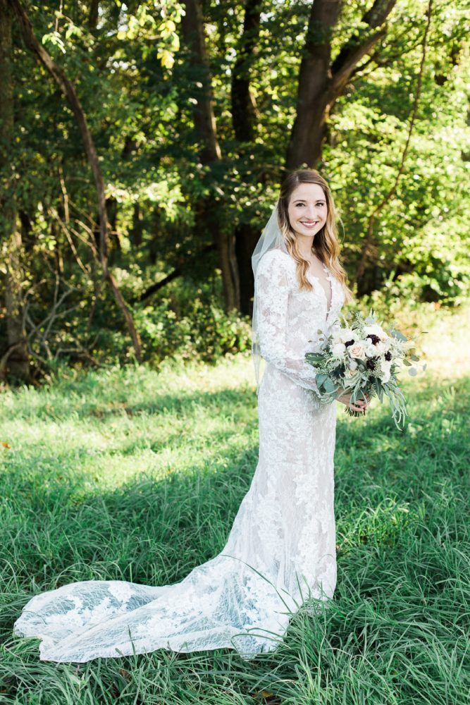 Long Lace Sleeved Wedding Dress: Wedding Dresses: The Best of 2017 from Burgh Brides