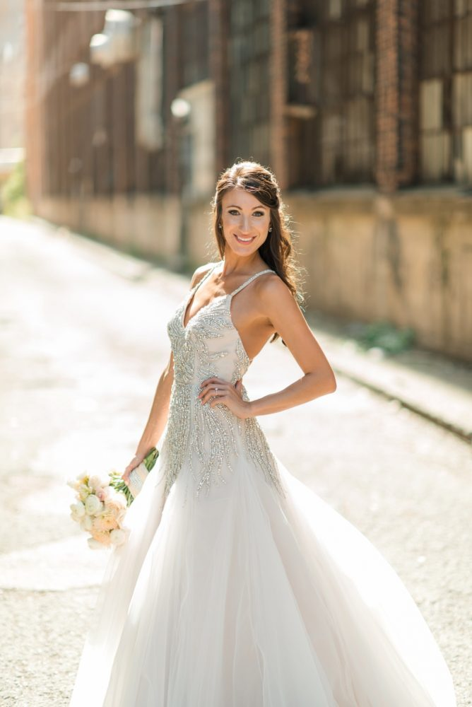 Blingy Hayley Paige Wedding Dress: Wedding Dresses: The Best of 2017 from Burgh Brides