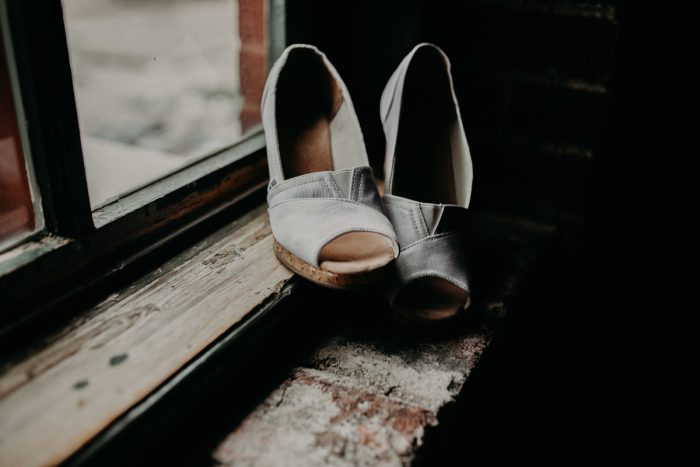 Wedding Flats: White & Gray Industrial Wedding at the History Center from Rachel Rowland Photography featured on Burgh Brides