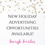 Burgh Brides Holiday Advertising Opportunities