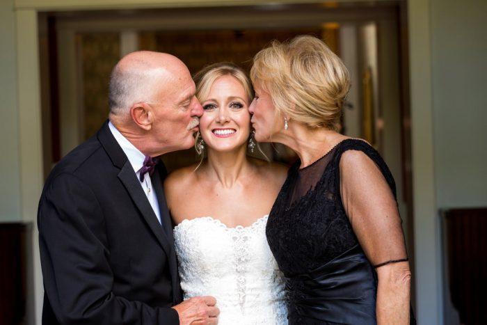 Elegant Blush & Gold Wedding from Annie O'Neil Photography featured on Burgh Brides