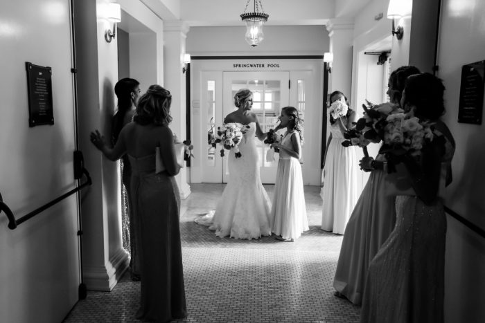 Elegant Blush & Gold Wedding from Annie O'Neil Photography featured on Burgh Brides