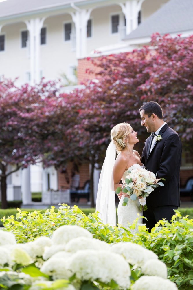 Outdoor Wedding Photos: Elegant Blush & Gold Wedding from Annie O'Neil Photography featured on Burgh Brides