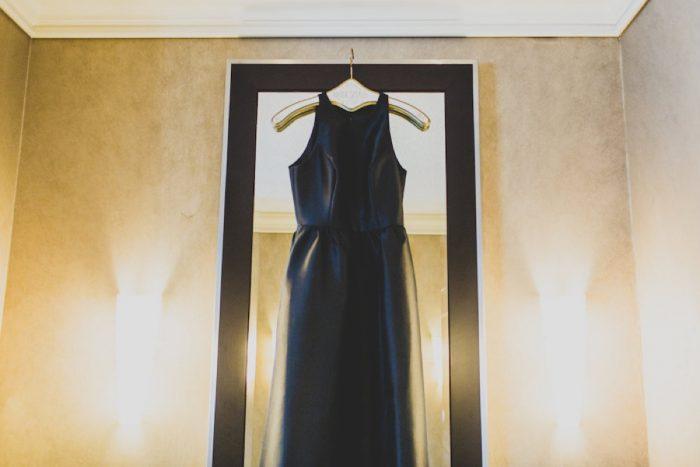 Black Bridesmaids Dresses: Modern Chic Wedding from Ryan Zarichnak Photography Featured on Burgh Brides