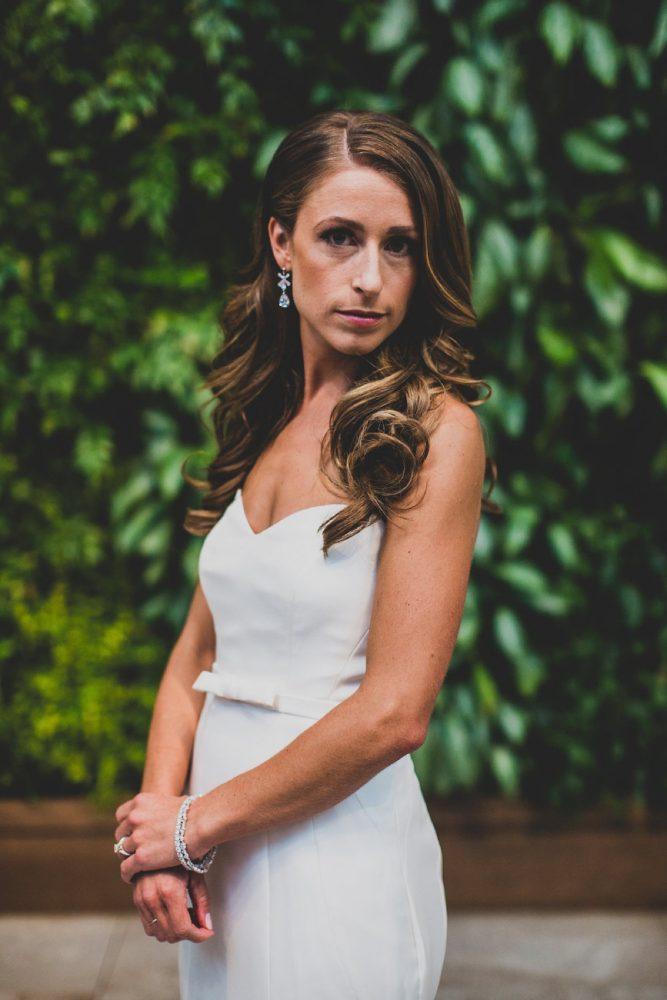 Sweetheart Neck Wedding Dress: Modern Chic Wedding from Ryan Zarichnak Photography Featured on Burgh Brides