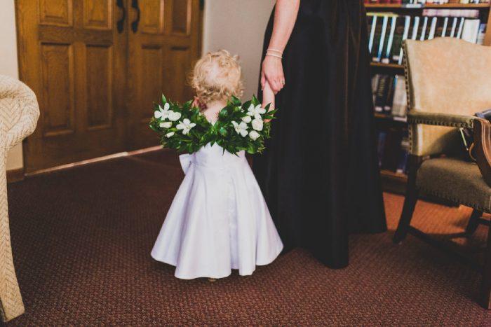 Flower Girl Ideas: Modern Chic Wedding from Ryan Zarichnak Photography Featured on Burgh Brides