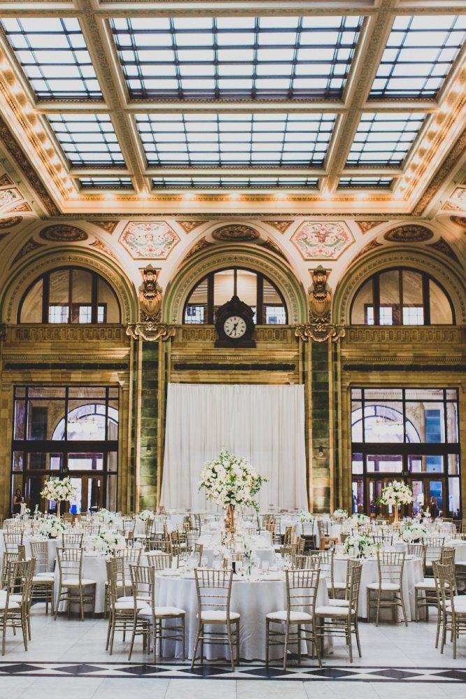 Wedding Lighting Ideas: Modern Chic Wedding from Ryan Zarichnak Photography Featured on Burgh Brides