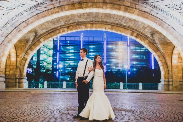 Epic Wedding Photos: Modern Chic Wedding from Ryan Zarichnak Photography Featured on Burgh Brides